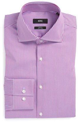HUGO BOSS 'Jaron' WW Slim Fit Easy Iron Dress Shirt