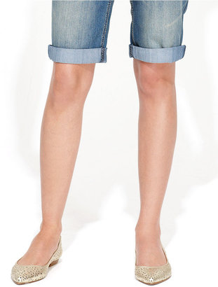 INC International Concepts Jeans, Cuffed Denim Shorts