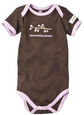 Hudson Baby Organic Bodysuit - Brown