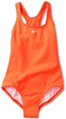 Nike Nik Kids Cor Solids Powr Back Tank Girl's Swimsuits On Pic