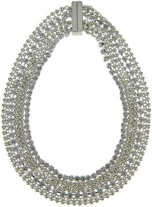 Forever 21 Magnetic Closure Rhinestone Necklace