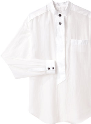 Proenza Schouler stand collar shirt