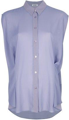 Acne 'Scallop' blouse