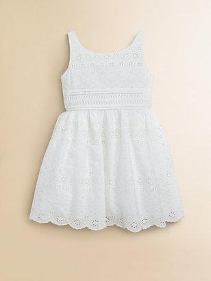 Ralph Lauren Toddler's & Little Girl's Eyelet Dress