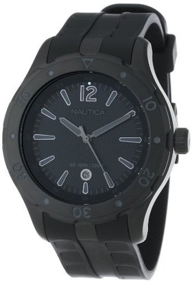 Nautica Unisex N15625G NST 401 Atlantis Date Classic Analog with Enamel Bezel Watch $88 thestylecure.com