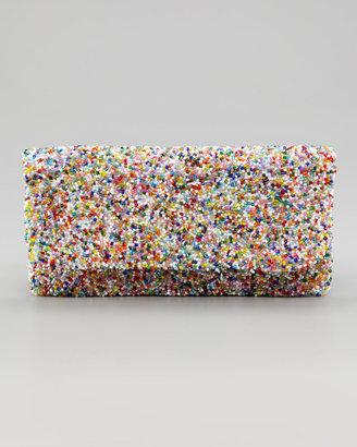 Moyna Multicolor Beaded Clutch Bag