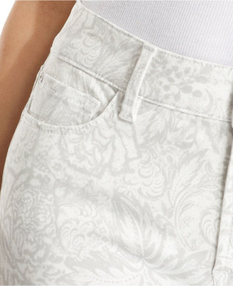NYDJ Jeans, Alina Printed Jegging, Cream Wash