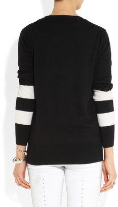 Markus Lupfer Loves Hillier sequined merino wool bunny sweater
