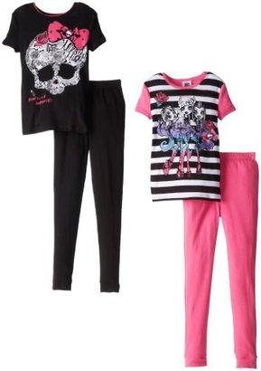 Komar Kids Girls 7-16 Monster High 4 Piece Pajama Set Set