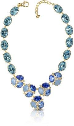 Forzieri Blue Crystal Necklace