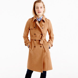 Icon trench coat in Italian wool cashmere $365 thestylecure.com