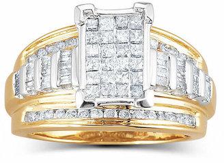 MODERN BRIDE 1 CT. T.W. Genuine Diamond Engagement Ring 14K Gold