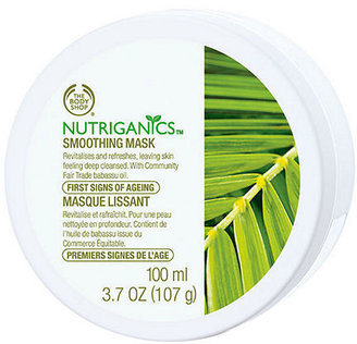 The Body Shop Nutriganics Smoothing Mask 3.38 fl oz (100 ml)
