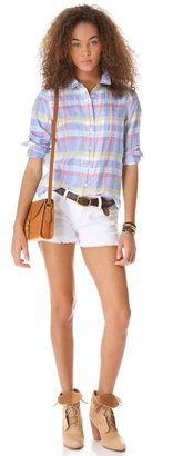 Madewell Plaid Eden Shirt