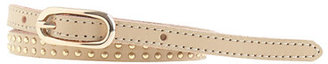 J.Crew Double-studded leather belt