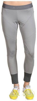 adidas by Stella McCartney Run Performance 7/8 Tight Pant (Tin/Shadow) - Apparel