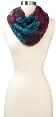 Made of Me Women's Shaggy Chevron Loop Scarf