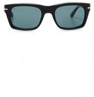 Persol Polarized Rectangular Sunglasses