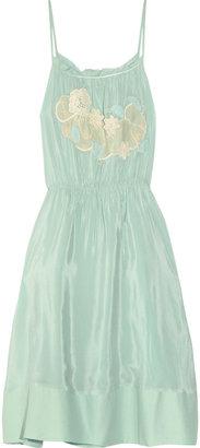 Vanessa Bruno Silk crepe de chine dress