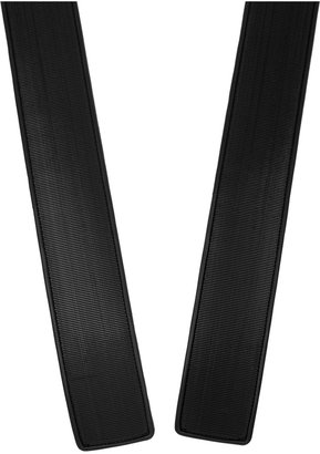 Maison Martin Margiela Velcro-appliquéd leather waist belt