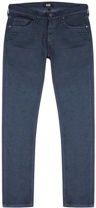 Paige Lennox Navy Slim-leg Jeans