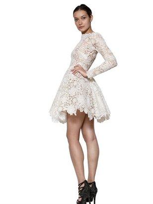 Maria Lucia Hohan Long Sleeves Cotton Lace Dress