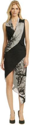 Helmut Lang Black Forest Dress