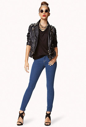 Forever 21 Five Pocket Skinny Jeans