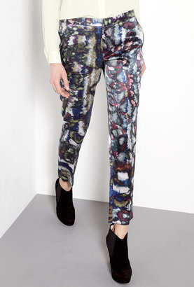 Theyskens' Theory Iplay Small Padgette Camo Trousers