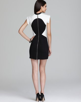 Kas Dress - Valentina Leather Trim