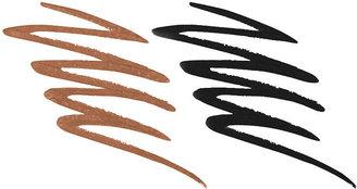 Mally Beauty Evercolor Starlight Waterproof Eyeliner Duo, Midnight/Royal Plum 1 ea