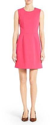 Diane von Furstenberg Shanna A-Line Dress In Fucshia Rose