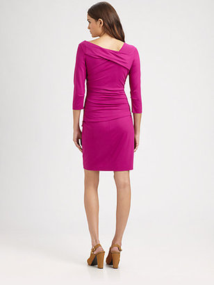 Diane von Furstenberg Bentley Ruched Dress