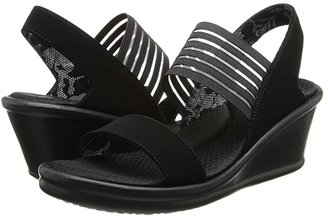 Skechers Rumblers-Sci-Fi (Black) Women's Sandals