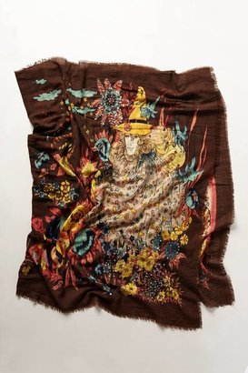 Anthropologie Sequined Fable Scarf