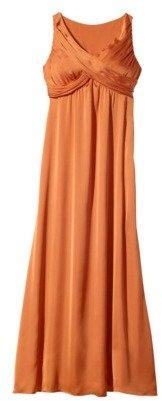 Women's Sleeveless Crossover Chiffon Maxi Dress - Fashion Colors