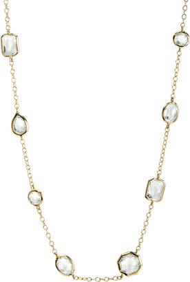Ippolita Mini Gelato Necklace, Clear Quartz