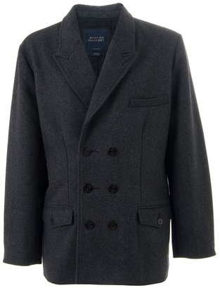 Rogues Gallery Double-breasted wool coat