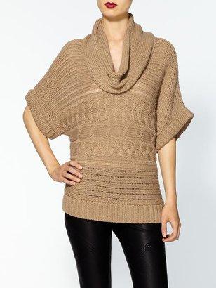 MICHAEL Michael Kors Horizontal Cable Sweater