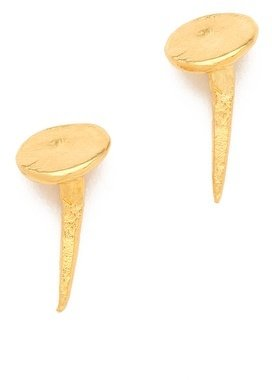 Tom Binns Voila Nail Stud Earrings