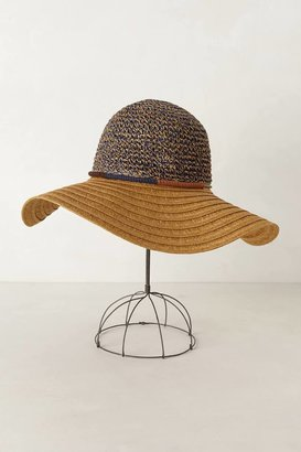 Anthropologie Two-Note Floppy Hat