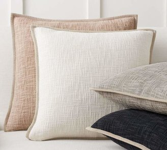 Pottery Barn Cotton Basketweave Pillow Covers