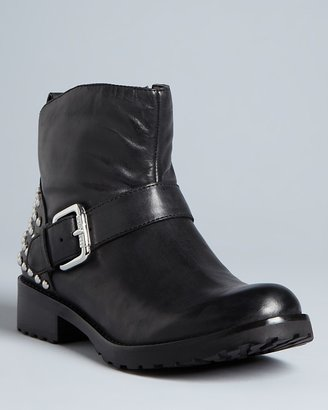 GUESS Studded Moto Booties - Robbyn
