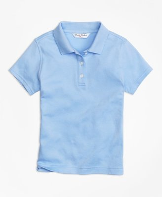 Brooks Brothers Girls Short-Sleeve Polo Shirt