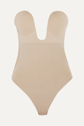 Fashion Forms U-plunge Self-adhesive Backless Thong Bodysuit - Neutral