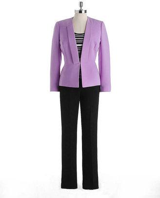 Tahari ARTHUR S. LEVINE Three-Piece Pants Suit