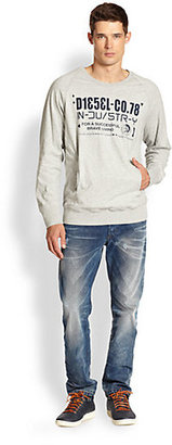 Diesel Seki Cotton Sweatshirt