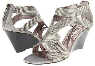 Brigitte Bailey Rinnie (Pewter Metallic Suede) - Footwear