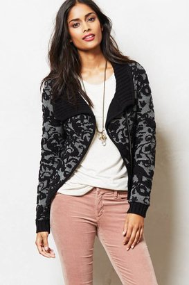 Anthropologie Amur Jacquard Moto Jacket