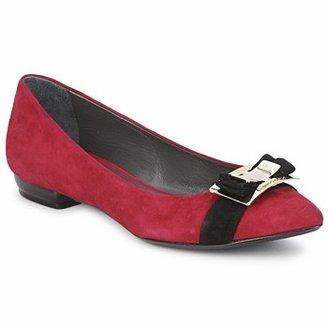 Alberto Gozzi CAMOSCIO RUBINO women's Shoes (Pumps / Ballerinas) in Red